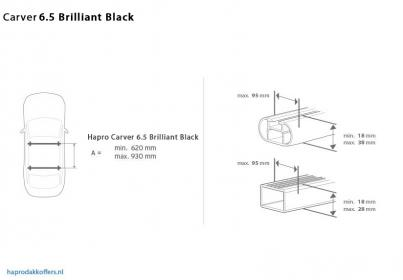 Hapro Carver 6.5 Brilliant Black Img.3